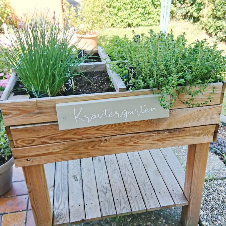 """Holzschild """"Kräutergarten"""""""