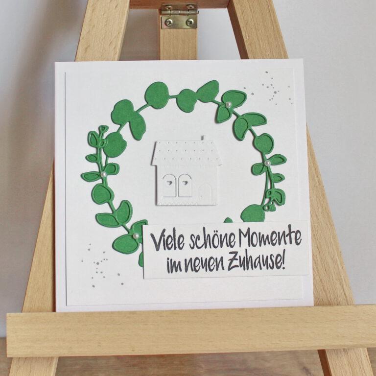 """Glückwunschkarte zum Einzug """"Momente"""""""